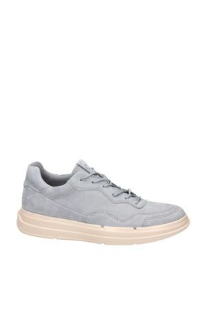 Soft X  nubuck sneakers grijsblauw