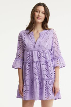 trapeze jurk Indy lila