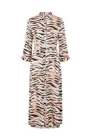 maxi jurk PCRYJA met all over print roze