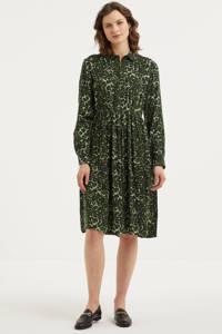 PIECES blousejurk PCFAXA met all over print groen, Groen
