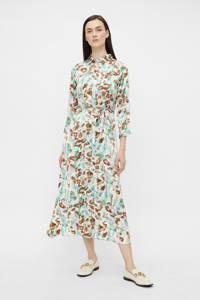 PIECES maxi jurk PCRYJA met all over print lichtgroen, Lichtgroen