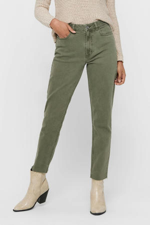 straight fit jeans ONLEMILY groen