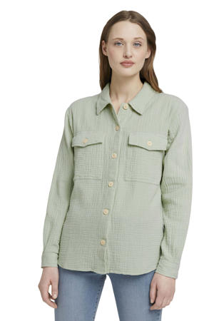 blouse lichtgroen