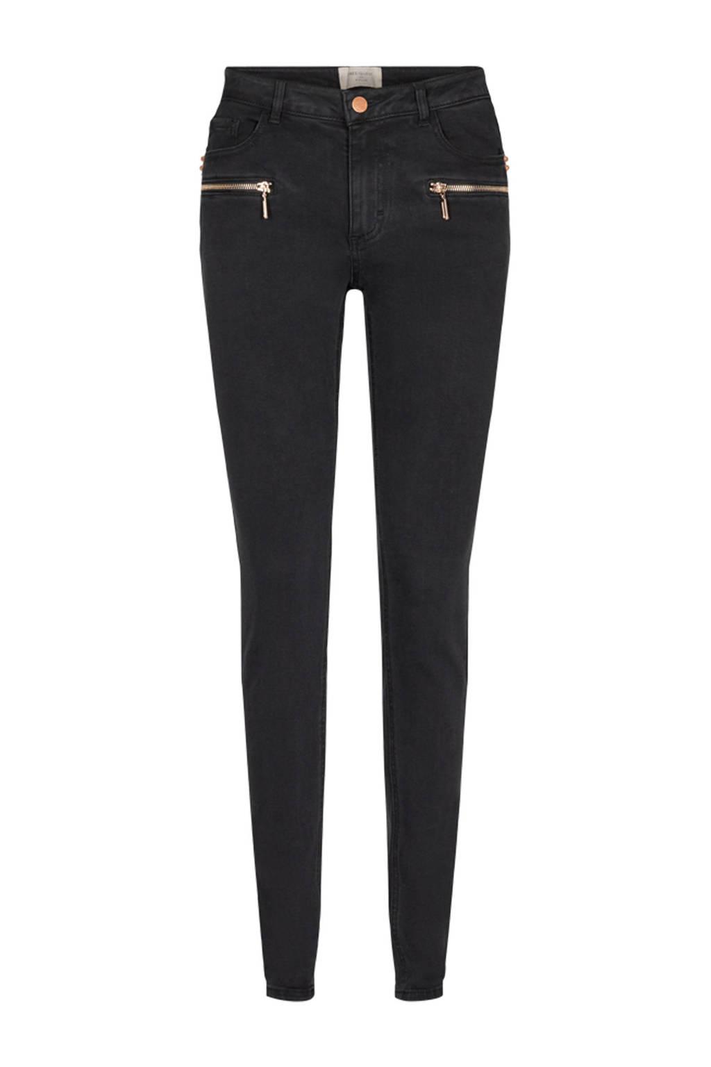 FREEQUENT skinny jeans Aida FQAIDA-JE-DENIM-GOLDIE black, Zwart