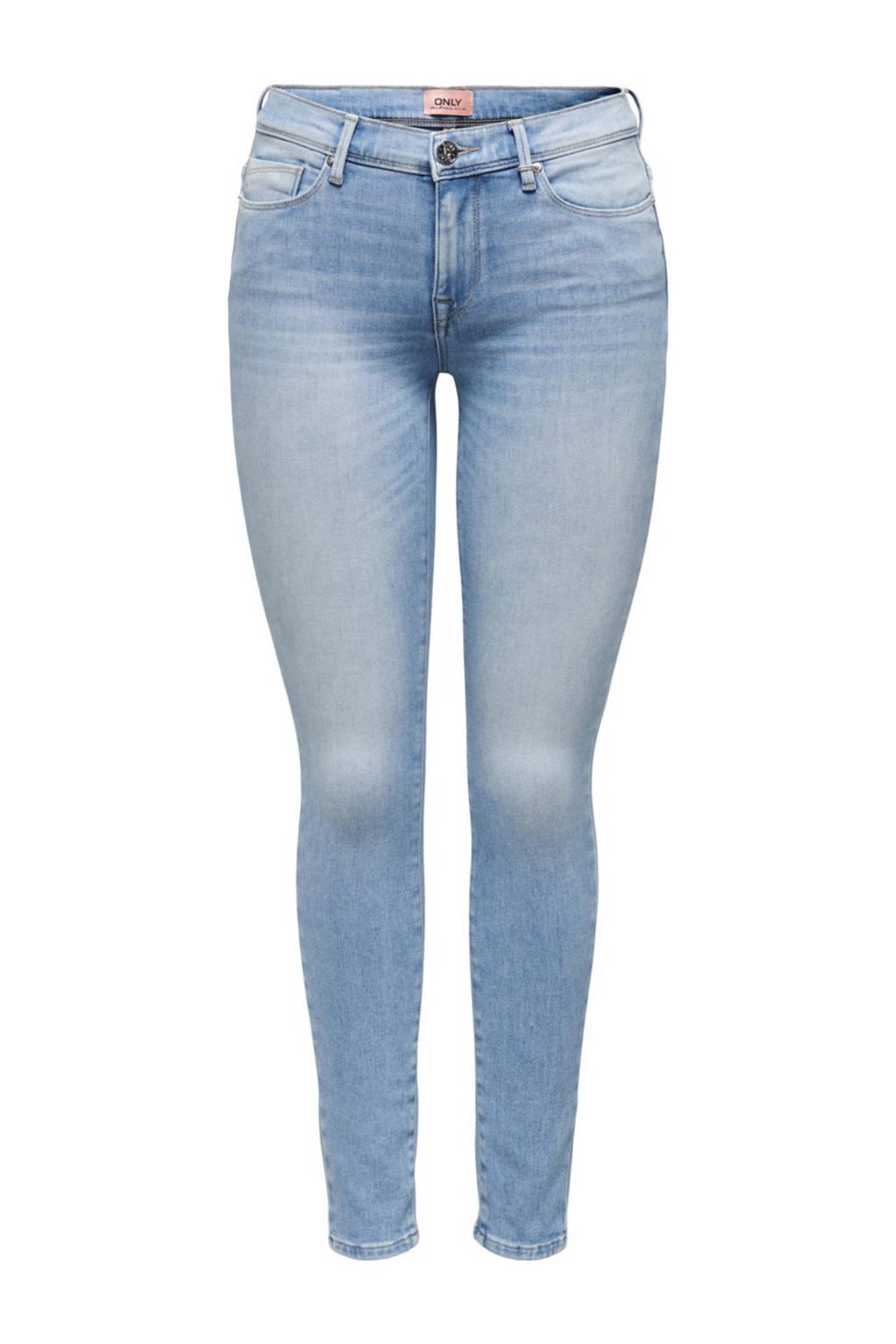 ONLY skinny jeans ONLSHAPE light blue denim, Light blue denim