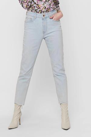 high waist straight fit jeans ONLEMILY light blue denim