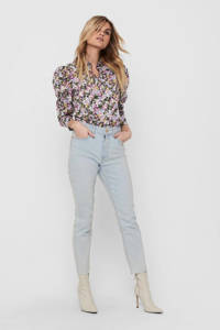 ONLY straight fit jeans ONLEMILY light blue wash, Light Blue Wash