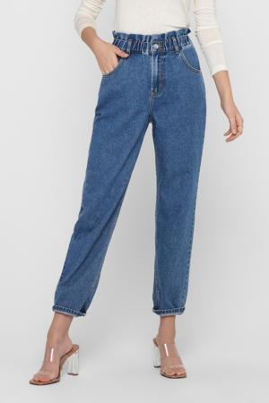 high waist tapered fit jeans ONLOVA blauw