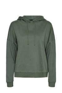 VERO MODA hoodie met biologisch katoen groen, Groen
