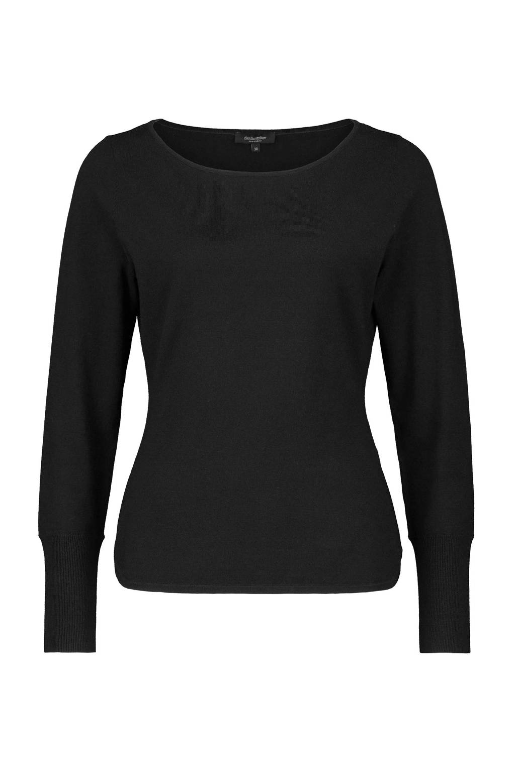 Claudia Sträter trui zwart, Zwart