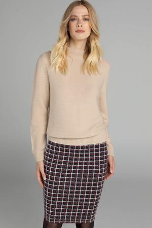 gebreide trui beige