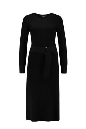 wollen jurk zwart