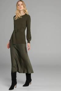 Claudia Sträter trui met wol groen, Groen