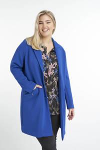 MS Mode  coat blauw, Blauw