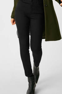 C&A Yessica high waist skinny jeans zwart, Zwart