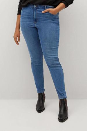 high waist super skinny jeans dark denim