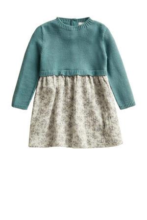 baby jurk blauw/beige
