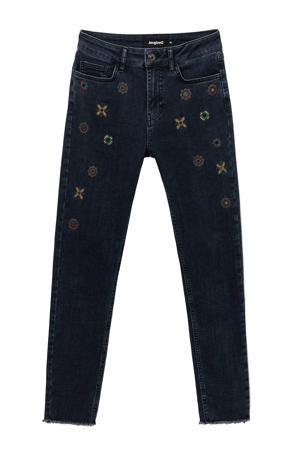 skinny jeans dark denim/multi
