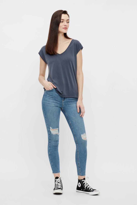 PIECES T-shirt PCKAMALA donkerblauw, Donkerblauw