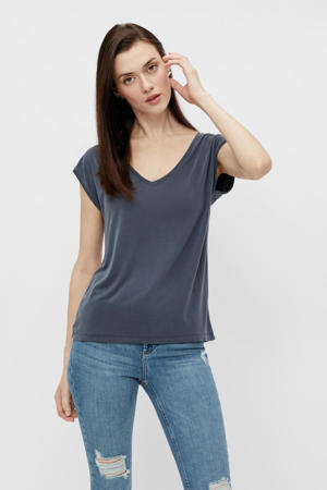 T-shirt PCKAMALA donkerblauw