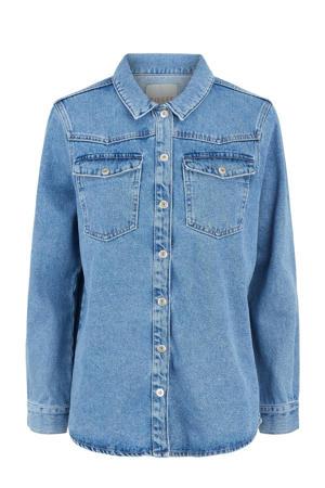 blouse PCGRAY blauw