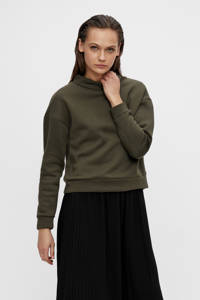 OBJECT sweater groen OBJLUCIA, Groen
