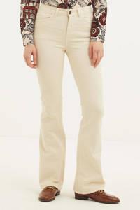 OBJECT flared jeans OBJFINIA beige, Beige