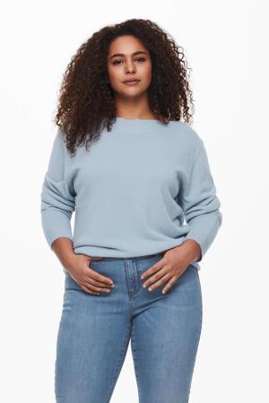 fijngebreide trui CARAMA lichtblauw