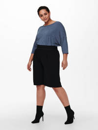 ONLY CARMAKOMA top CARLAMOUR donkerblauw, Donkerblauw