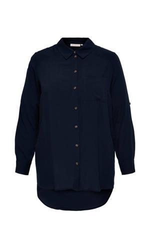 blouse CARDENIZIA donkerblauw