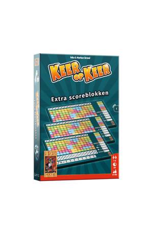 Keer op Keer Scoreblok 3 stuks Level 1 uitbreidingsspel