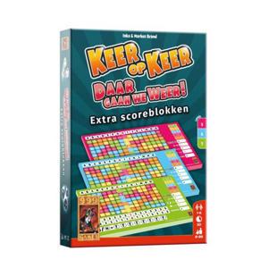 Keer op Keer Scoreblok 3 stuks Level 5, 6 en 7 uitbreidingsspel