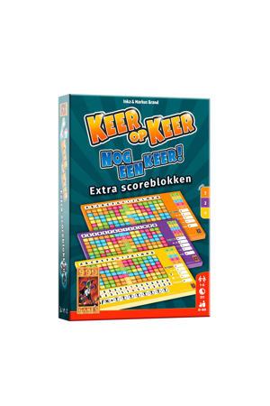 Keer op Keer Scoreblok 3 stuks Level 2, 3 en 4 uitbreidingsspel
