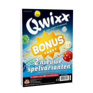 Qwixx Bonus uitbreidingsspel