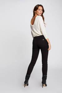 Morgan low waist skinny broek zwart, Zwart