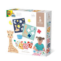 SES My first Sophie la girafe - Sticking shapes