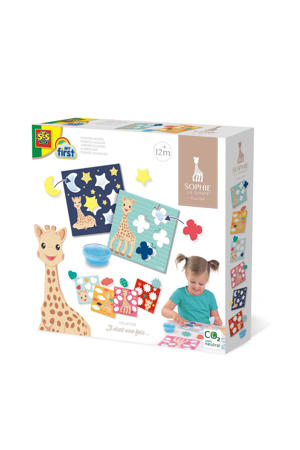 Sophie la girafe - Sticking shapes