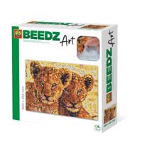 SES Beedz Art Leeuwen welpen, Multi kleuren