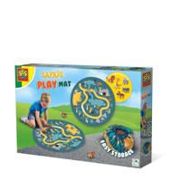 SES Outdoor Safari speelmat en opbergzak 2 in 1, Multi