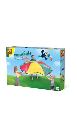 Parachute vliegende tucan