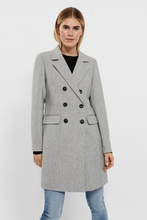 coat VMCARMA  lichtgrijs