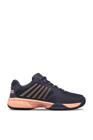 Hypercourt Express 2 hb tennisschoenen grijsblauw/oranje