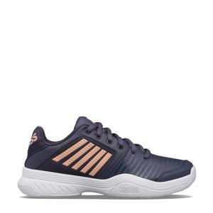 Court Express hb tennisschoenen grijsblauw/oranje