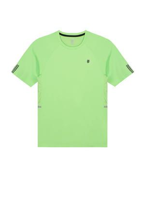 sport T-shirt neon groen