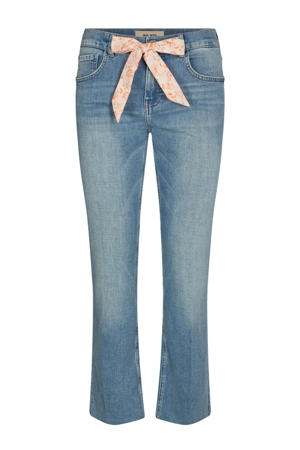 cropped straight fit capri jeans Simone Swift  light denim