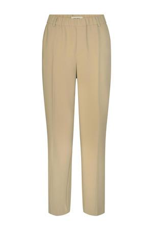 tapered fit pantalon Bai Leia Pant beige