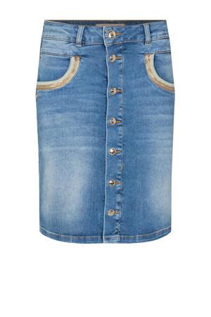 spijkerrok Vicky Wave Skirt met pailletten