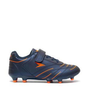 voetbalschoenen blauw/oranje