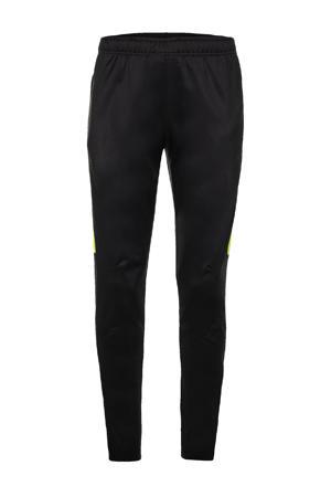 Senior  voetbalbroek zwart/geel