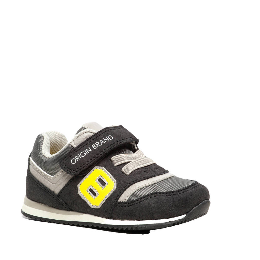 Scapino Blue Box   sneakers zwart/grijs, Zwart/grijs